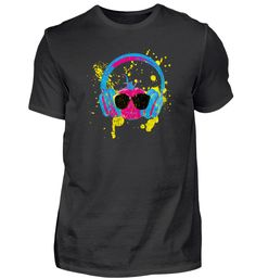 Pop Art Tomate Kopfhörer + Sonnenbrille T-Shirt Pop Art, Mens Tops, Fashion, Cotton, Moda, Art Pop, Fashion Styles, Fasion