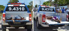 Polícia: Troca de tiros com bandidos deixa três mortos e dois presos no Prado