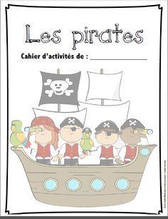 French Pirates activities/Cahier d'activités sur les pirates
