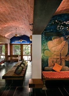 // le corbusier / villa de madame manorama sarabhai, ahmedabad