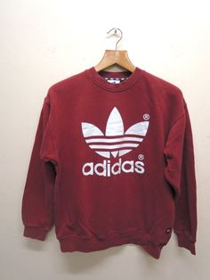 Vintage 90s Adidas Trefoil Sweatshirt Pull Over Sport Sweater Hip Hop Street Wear Size S Measurement : Armpit to armpit = 21 Shoulder to end of garment = 24 Size : S Made In : Not on tag Material : Not on tag Condition: Shirt in Good Condition. No stain and No holes All