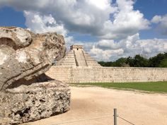 Chichen Itza <3 I've been here twice and I would go back again. Truly breathtaking and so rich in history.