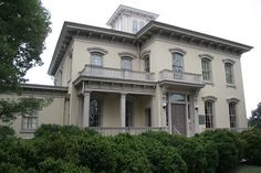 """Sutherlin Mansion, known as the """"Last Capital of the Confederacy"""" because of the fact that the Confederate government moved into this home in Danville, Virginia"""