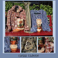 Amazing fashion! @Carlala Fashion ! With @KARMA OF CHARME , a #carlalafashion jacket, a #kirobykim cardigan, a #seeme necklace and a handmade scarf from India! Love all the fashion!! The Bahia boots are just amazing, @Karma of Charme Official Brand !!