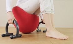 Cuvilady Balance Chair... i have no idea what the lady is saying in the video but she sounds excited and make me want to get this that much more...plus it just looks fun!