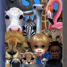 KINGDOM PORTRAIT - MARGARET KEANE