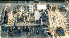 A電廠加入網格在2018年伯恩斯天然氣在沒有排放