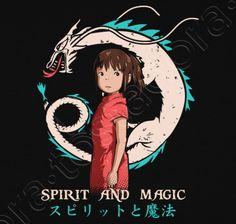 Camiseta Spirit and Magic - nº 797803 - Camisetas latostadora