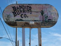 Bandito Burrito.    Oh sweet succulent Jesus, I will be there soon. I can taste your green bean deliciousness as I speak...