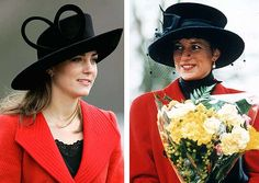 Prince William and Kate Middleton love story - Photo 11 | Celebrity news in hellomagazine.com Her presence sparked a media frenzy and engagement rumours refused to die down, as Kate drew comparisons to William's late mother Diana in her elegant red coat and black hat.  Suddenly, Kate was a target for the paparazzi, and the young couple were followed closely as they went about their day-to-day lives.