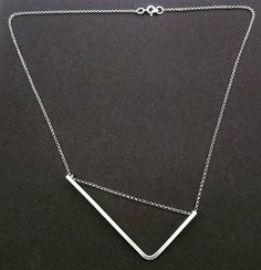 Minimalist Sterling Silver Necklace - Morgana Crea