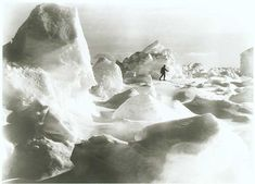 Erest Shackleton's epic Antarctic Expedition was captured by Endurance ship photographer Frank Hurley, 1915.