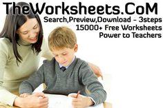 worksheets...