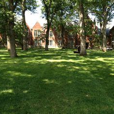 Wellesley College Academic Quad