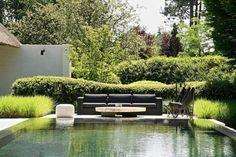 Outdoor Seating Areas, Outdoor Furniture, Outdoor Decor, Luxury Homes, Greenery, Furniture Design, Indoor, Comfy, Building