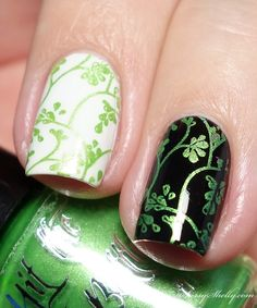 Hit the Bottle Absinthe Minded - stamping polish from Beautometry | Sassy Shelly