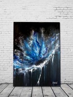 Electrik 30'' x 40''  Acrylic on canvas
