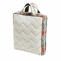 Cosmetic Bag II - Vertical, Ravinia Ivory @organizingstore