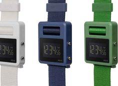 VOID watches is een Zweeds horlogemerk dat zorgt voor tijdloze     designs en kwalitatieve producten. De SOND lijn is gevuld met     unieke, digitale klokwerken met een innovatief locking mechanisme     waarbij de nylon polsband zichzelf vastzet door gebruik te maken van     het horloge zelf.De SOND reeks komt in een grote variatie aan kleuren waaronder navy, beige, wit, rood en groen en is online, inclusief 2 jaar garantie, verkrijgbaar in de DopArt shop voor 75.00 Euro.