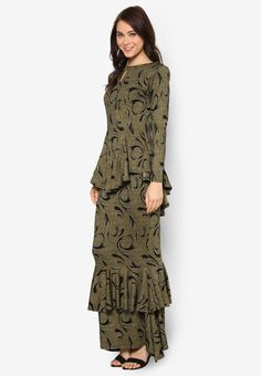 Two Layer Printed Midi Kurung_2