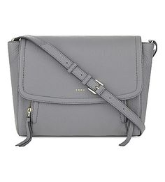 DKNY Chelsea Vintage Grained Leather Messenger. #dkny #bags #leather #