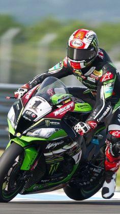 Jonathan Rea Kawasaki Motorcycles, Racing Motorcycles, Motorcycle Bike, Racing Team, Road Racing, Velentino Rossi, Ninja Bike, Gp Moto, Kawasaki Zx10r