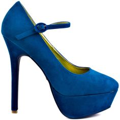Goodness heels Blue brand heels Promise Shoes