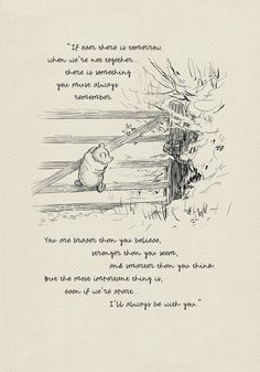 If ever there is tomorrow… Winnie the Pooh Quotes – classic vintage style poster print High quality digital print based on illustration for the book The House at Pooh Corner. SIZE 297 mm x 420 mm x ) 210 mm x 297 mm x ) 148 mm … Pooh Winnie, Winnie The Pooh Quotes, The Words, Book Quotes, Me Quotes, Poster Quotes, Friend Quotes, Quote Prints, Poster Prints