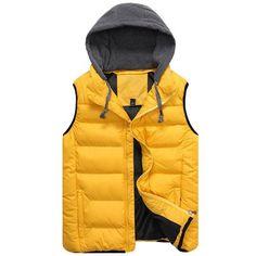 Brand 2018 Autumn Winter Men Coat Warm Sleeveless Jacket Casual Men Ve – cgabuy