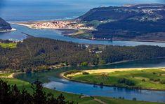 Rutas en coche cerca del r�o Nal�n y su desembocadura, Asturias