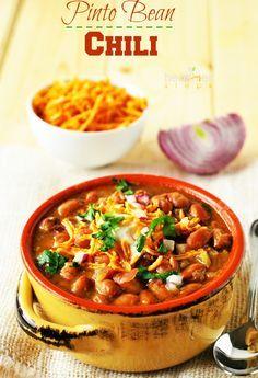 Pinto Bean Chili (Vegan)