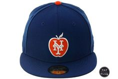 151451fc7be Exclusive New Era 59Fifty New York Mets Apple Hat - Royal