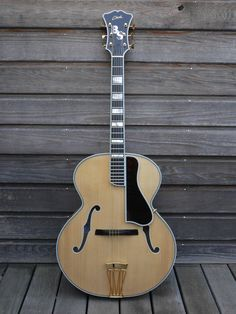 "Archtop Franck Cheval Strad Custom ""D'Angelico"""