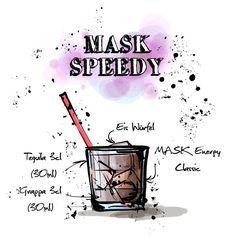 Braucht man eigentlich einen #Barkeeper? Nicht unbedingt.  Denn an diesem Mittwoch kreieren wir euch den #MASK #Speedy!  Das ganze #Rezept findet ihr hier: http://happyhour.mask-energy.com/MASK-Speedy.pdf  Um euch euren benötigten #Energydrink für diesen #Cocktail zu beschaffen, schaut in unserem #OnlineShop vorbei:   http://shop.mask-energy.com/startseite/mask-energy-drink-24x250ml.html  Wir wünschen eine schöne Woche!  Euer MASK Team
