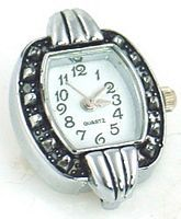 Watch faces for beading, 2 hole slider beads and fold over magnetic clasps
