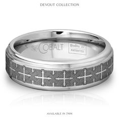 Cobalt ring. Scratch-resistant, durable and an awesome style