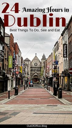 24 Amazing Hours in Dublin: Dublin Ireland is perfect for a 24 hour stopover. The city is great for solo travel; it is easy to get around, safe and the people are friendly. Voyage Europe, Europe Travel Guide, Travel Guides, Places To Travel, Places To See, Travel Destinations, Holiday Destinations, Ireland Vacation, Ireland Travel