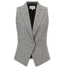 Buy Somerset by Alice Temperley Buckled Waistcoat, Grey Online at johnlewis.com