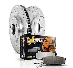 Disc Brake Pad and Rotor Kit Front Rear Power Stop K5577-36