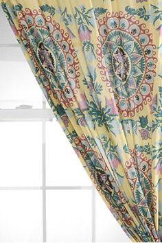 Mandala Curtain...awesome for the yoga room!!!