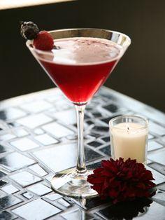 raspberry goddess - Holiday Cocktails & Drinks