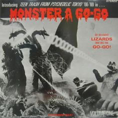 Monster A Go-Go #LP #cover (1990s)