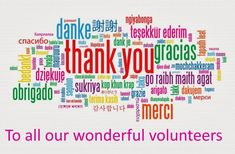 thank you volunteers - Google Search
