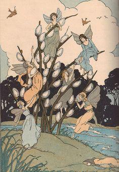 """The Fairies' Kittens"" by Abbie Phillips Walker. 1925"