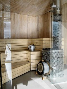 Gorgeous Coolest Home Sauna Design Ideas Small Basement Bathroom, Bathroom Cost, Add A Bathroom, Laundry Room Bathroom, Bathroom Plans, Bathroom Plumbing, Bathroom Ideas, Sauna Design, Sauna Room