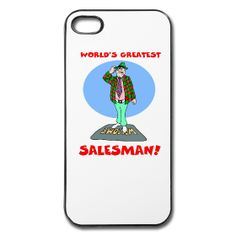 World's Greatest Salesman iPhone 5 Hard Casefrom PersonalizedSouvenirs.com.