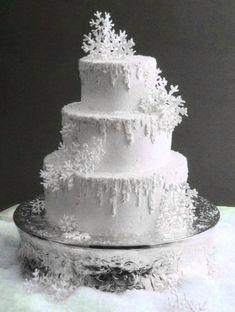 Snowflake Winter Wedding.