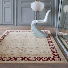 This eye-catching traditional rug is the best way to impress the visitors. It is extremely soft stain-resistant and long-lasting. Buy this luxurious, machine-made and easy to clean rug to boost the décor in style. #traditionalrugs, #stain-resistant, #durability, #machinemade luxuriousrugs, #therugshopuk