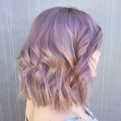 After 4 salon visits I finally have my desired hair colour! (Dusty pink)