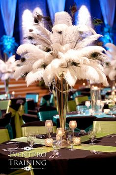 DIY: How To Make Ostrich Feather Centerpieces (Plus 7 Variations ...
